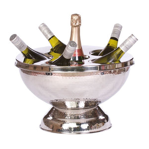 Epicurean Elegant Champagne/Wine Cooler 6 BTL XXL Hammered