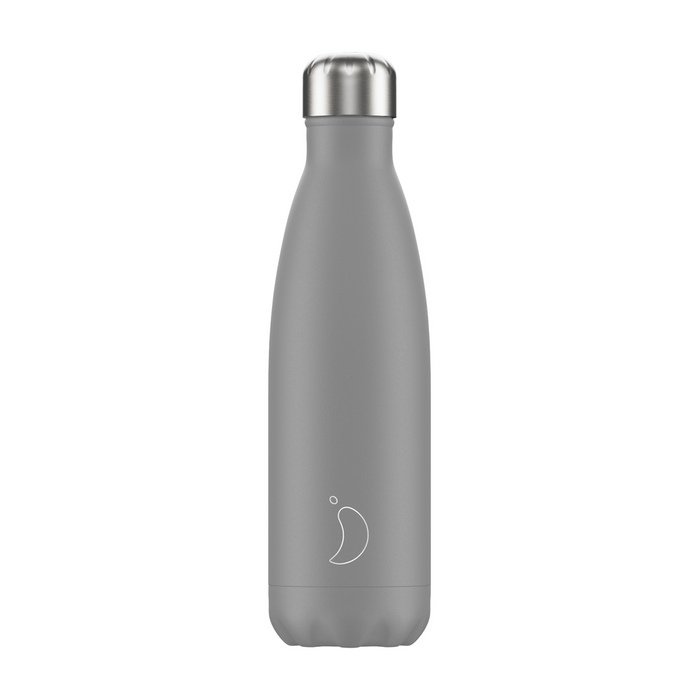 Chilly's - Mono Grey Water Bottle - 500ml