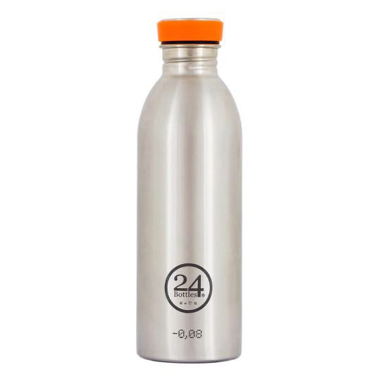 24 Bottles Urban 500ml - Steel