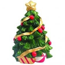 Traditional Christmas Tree Resin Topper