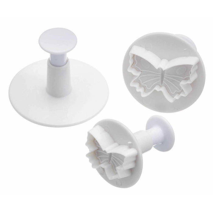 Sweetly Does It - Set of 3 Butterfly Fondant Plunger Cutters