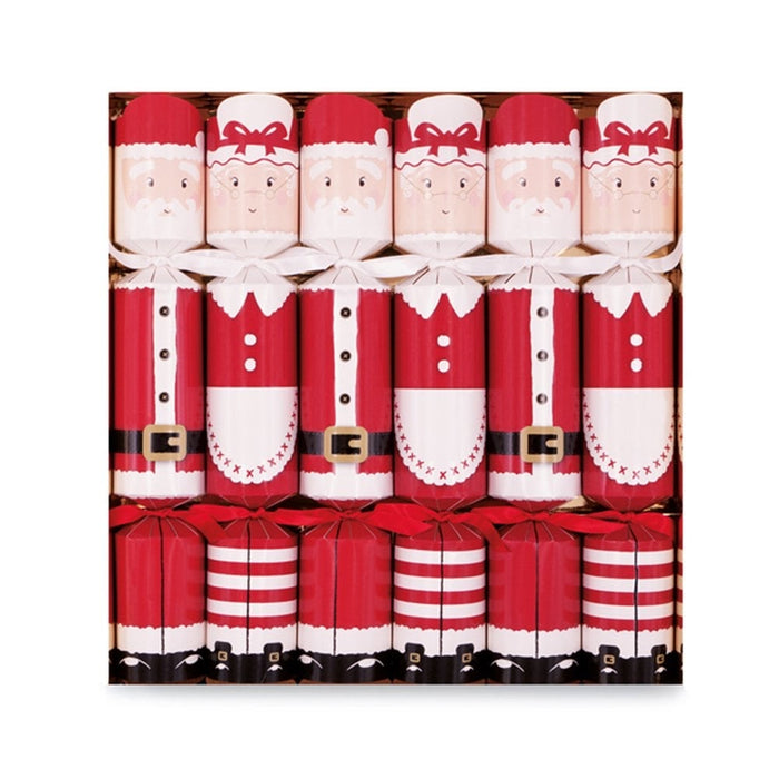 Celebration Crackers - Mr & Mrs Claus Pack of 6