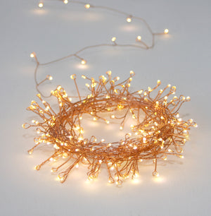 Lightstyle London Cluster Copper 7.5m