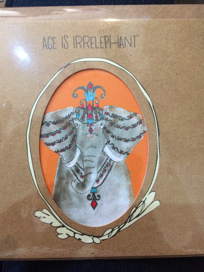 Card Age is irrelephant