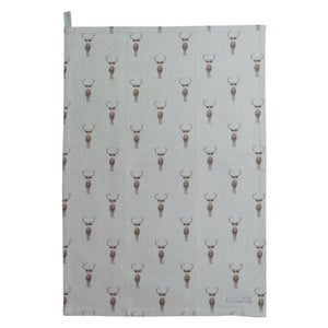 Sophie Allport Highland Stag Tea-Towel