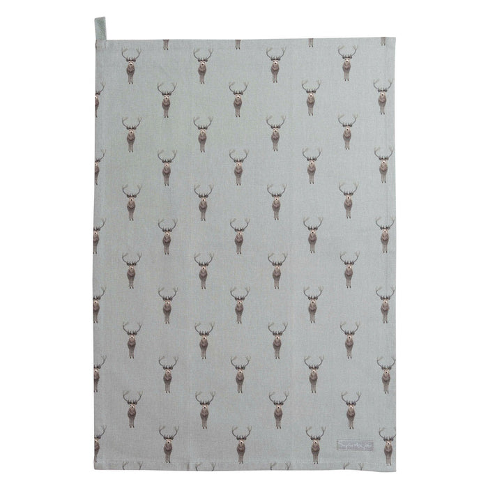 Sophie Allport - Highland Stag Tea Towel