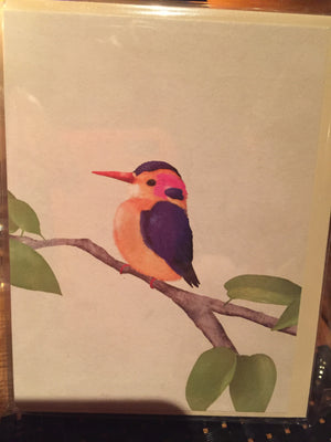 Lagom Carrie May Mini Card - Kingfisher