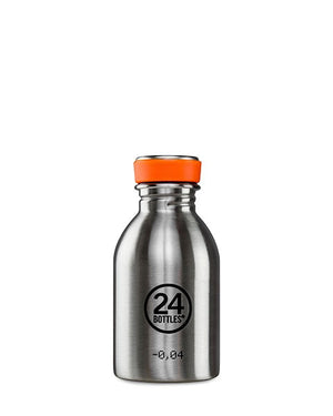 24 Bottles Urban 250ml - Steel