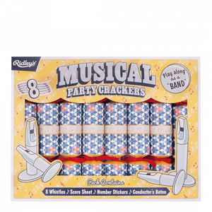 Celebration Crackers - Ridley's Musical Pack 8