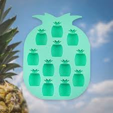 Blush pineapple ice cube tray