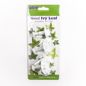 PME - Ivy Leaf plunger Cutters Set of 3