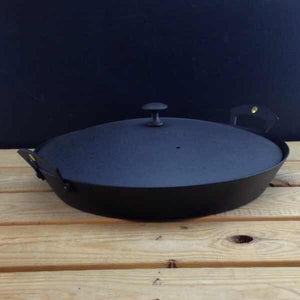 "Iron Prospector Pan and Lid 12"" (30cm)"