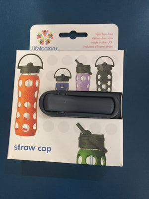 Straw Cap for Glass Bottle Lifefactory