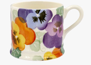 Emma Bridgewater - Purple Pansy Small Mug