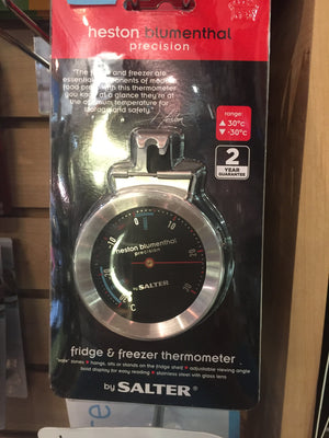 Fridge & Freezer Thermometer Heston Blumenthal