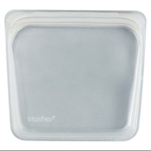 Stasher Reusable Plastic-Free - Clear - 18x19 cm