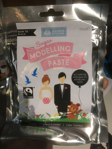 Bow Tie Black Modelling paste
