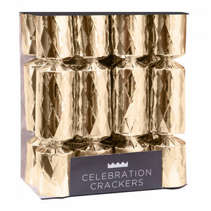 Celebration Crackers - Mini Gold Diamond - Pack of 8