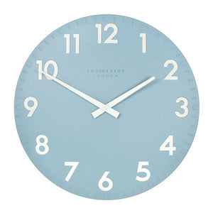 Camden Sea Blue Wall Clock-12inch