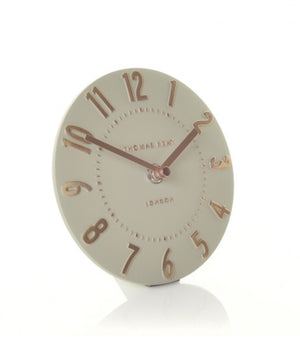 "Thomas Kent 6"" Mulberry Mantel Clock Rose gold"