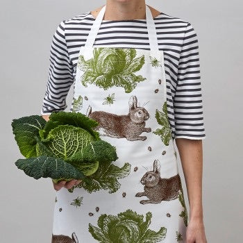 Apron Rabbit and Cabbage