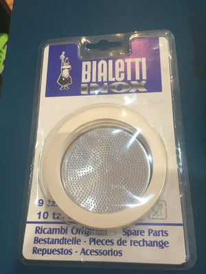 Bialetti - Gasket & Filter Venus 9 and 10 Cup