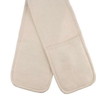 The British Textile and Co - Cream - Double Oven Glove