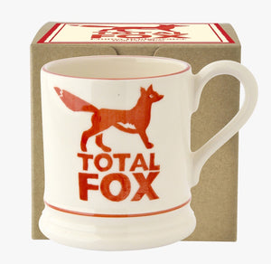 Emma Bridgewater - Total Fox Half Pint Mug