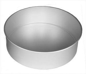 Alan SilverWood - 8 x 3in Cake Pan Solid Base