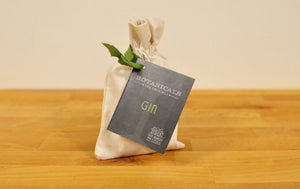 Botanicals for Gin in a Cotton Bag