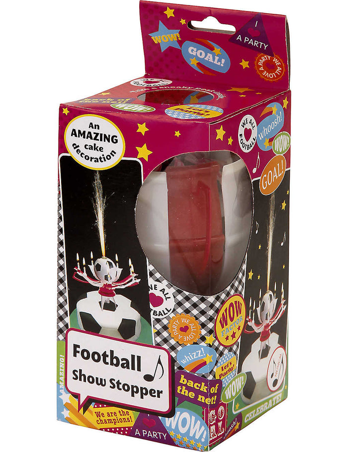 Talking Tables - Football Showstopper Candle