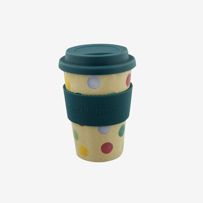 Emma Bridgewater - Polka Dot Rice Husk Travel Cup