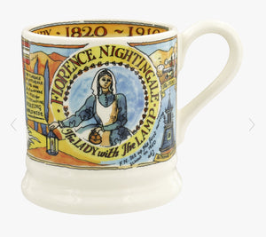 Emma Bridgewater - Florence Nightingale Bicentenary 1/2 Pint Mug