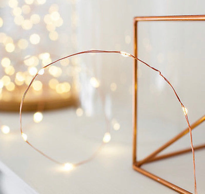Copper Wire Lights 990cm
