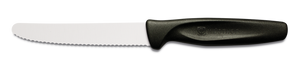 Wusthof - 10cm Serrated Paring Knife - Black