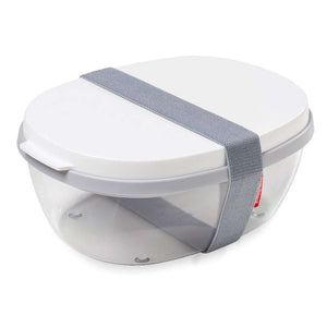 Rosti Mepal - Ellipse Salad Box To Go - White