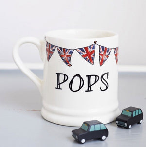 Sweet William - Pops Mug W/Union Jack Bunting