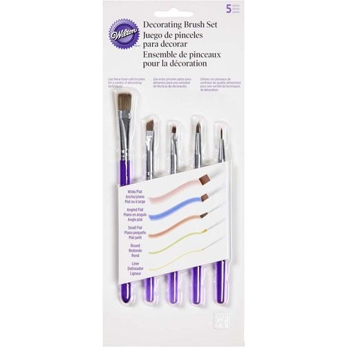 Decorating Brush Set-5 Piece