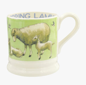 Emma Bridgewater - Bright New Morning Spring Lambs 1/2 Pint Mug
