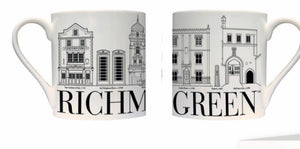 Richmond Green Bone China Mug (boxed)
