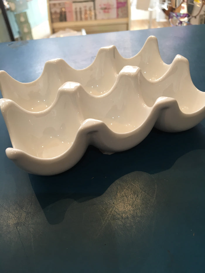 6 Egg cup Tray 14, 3x9,5x3,