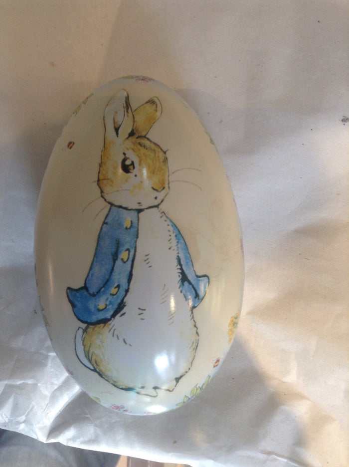 Peter rabbit- medium egg