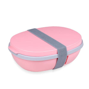 Rosti Mepal - Lunchbox Ellipse Duo - Nordic Pink