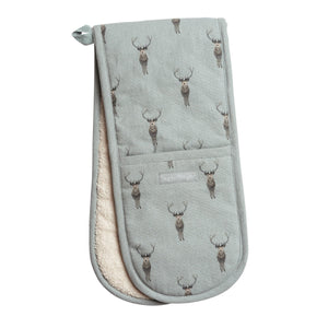 Sophie Allport - Highland Stag Double Oven Glove
