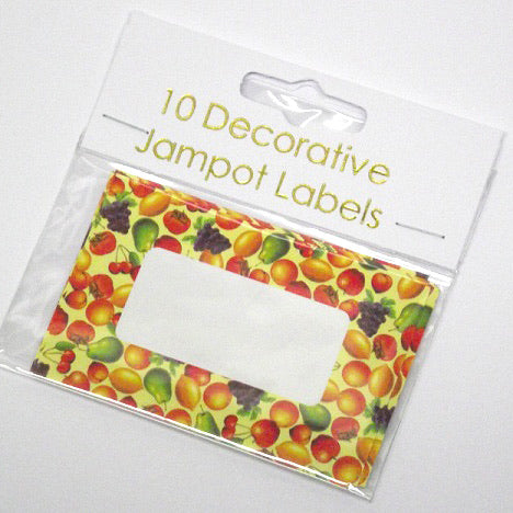 NJ Products - Fruit Jampot Labels