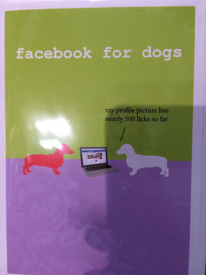 Card Facebook for dogs