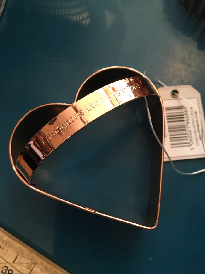 Heart Copper Cookie Cutter