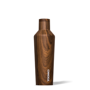Corkcicle - 16oz Canteen - Walnut Wood