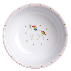 Sophie Allport - Unicorn Childrens Melamine Baby Bowl