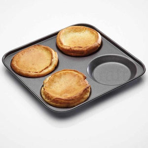 MasterClass - Non-Stick 4 Hole Yorkshire Pudding Pan